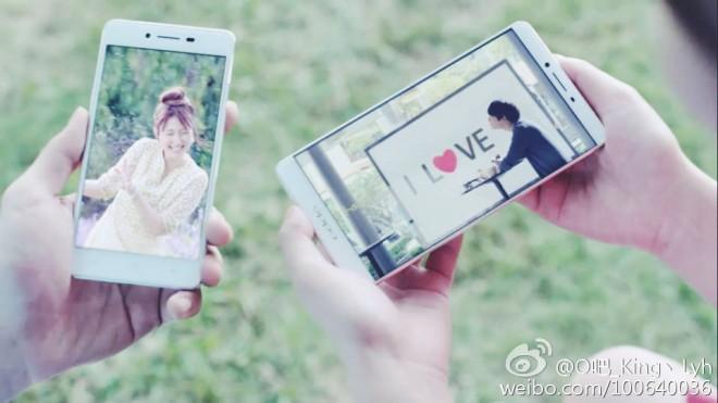 So sollen das Oppo R7 und R7 Plus aussehen. (Foto: Weibo)
