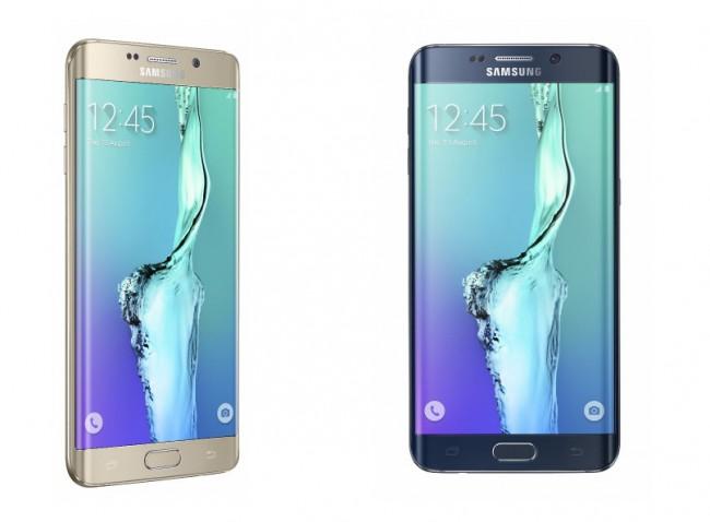 """Samsung lässt auf einigen seiner Smartphones Werbung anzeigen – für das neue Modell """"Galaxy S6 Edge+"""".  (Foto: Samsung)"""