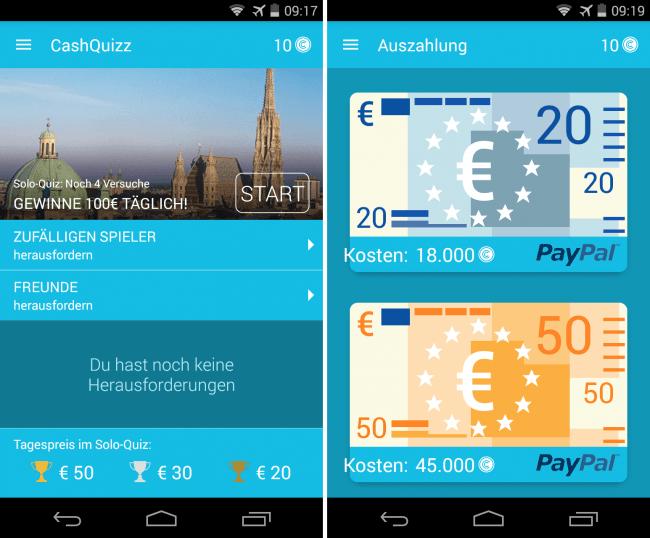 echtes geld gewinnen app