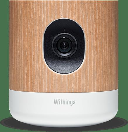 Das Withings Home hat eine HD-Kamera, Mikrofon, Lautsprecher  und Sensoren für Bewegung und Luftqualität an Bord.