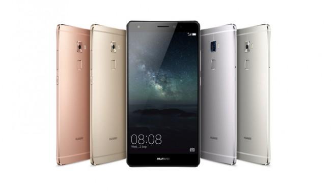 """Das neue Huawei-Smartphone """"Mate S"""" kann ebenfalls mit einem druckempfindlichen Bildschirm aufwarten. (Foto: Huawei Technologies Co., Ltd.)"""