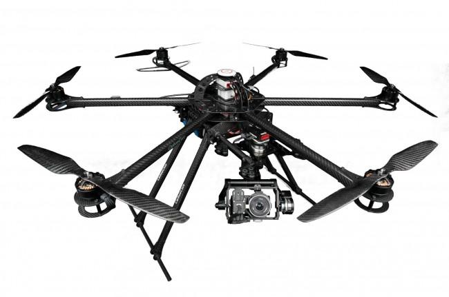Hexacopter Hexacopter sind dank ihrer sechs Propeller schneller und stärker – und lassen sich auch dann noch sicher landen, wenn einer der Propeller ausfallen sollte.