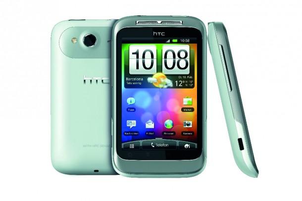 Ein günstiges, aber dennoch gut ausgestattetes Einsteigermodell ist das HTC Wildfire S Smartphone.