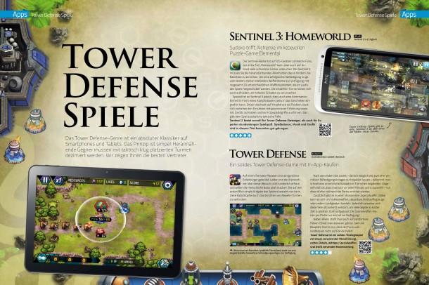 Android Magazin 8 - Tower Defense Spiele (2 von 4 Seiten)