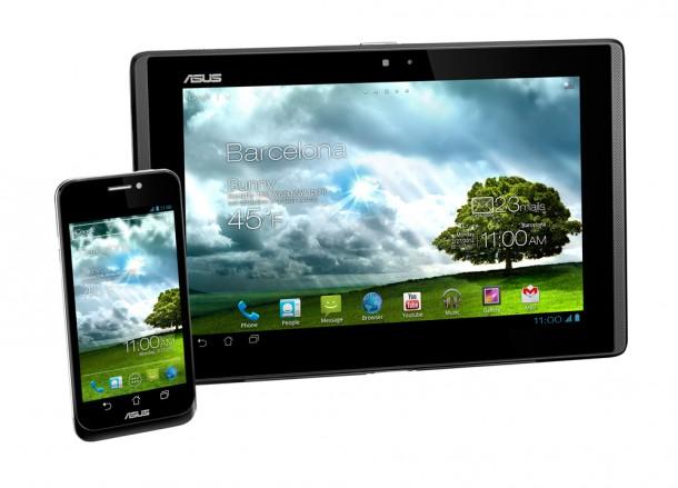Das Asus Padphone verbindet Smartphone mit Tablet. Foto: Asus.