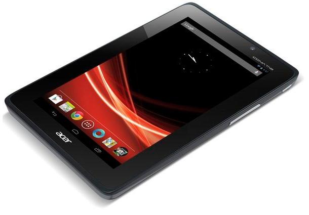 Das AcerIconia Tab A110 könnte bereits zum Verkausstart mit Android 4.1 Jelly Bean ausgestattet sein. Foto: androidauthority.com.