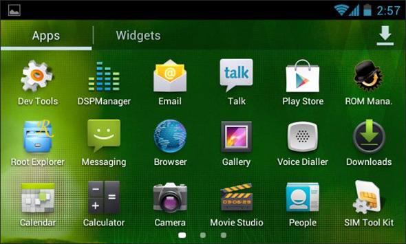 Die Touch Wiz Oberfläche des Samsung Galaxy S.3 Foto: xda-developers