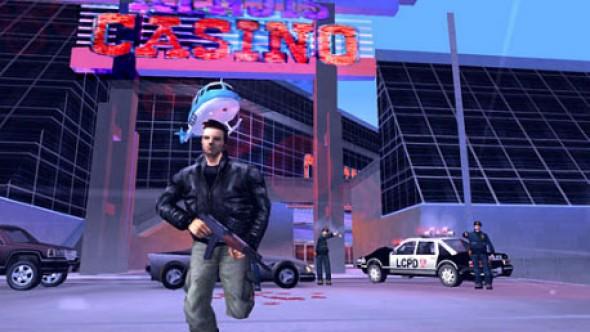 In GTA3 sollte man sich von der Polizei fernhalten.