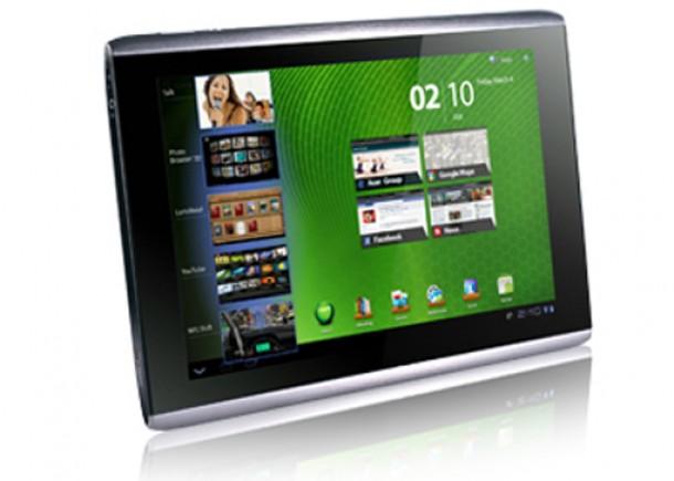 Das Acer Iconia Tab A501 bekommt ein Update auf Android 4.0 Ice Cream Sandwich. Foto: Acer.