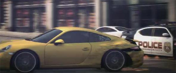 Heiße Action und Verfolgungsfahrten sind bei Need for Speed Most Wanted garantiert. Foto:EA.