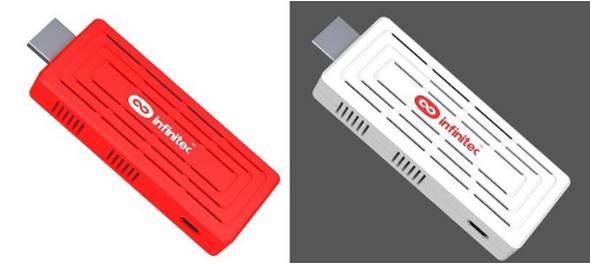 Pocket TV in den Farben weiß und rot. Foto: kickstarter.com.