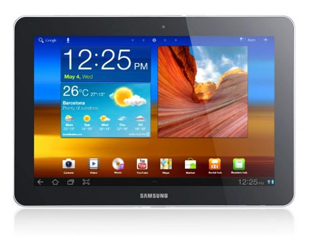 Das Samsung Galaxy Tab 10.1. darf aufgrund einer einstweilgen Verfügung von Apple in den USA nicht mehr verkauft werden. Foto: Samsung.