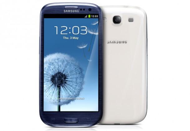 Aufgrund des Erfolges des Samsung Galaxy S3 gehen 45 % der Smartphoneverkäufe in England, Deutschland, Frankreich, Italien und Spanien in den letzten 12 Wochen gehen auf das Konto von Samsung. Foto: Samsung.