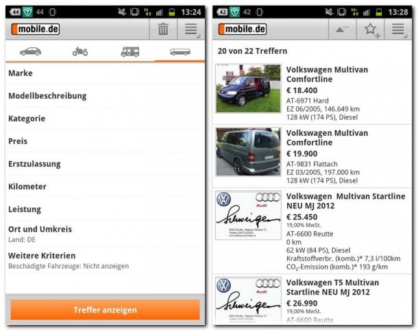 mobile autob rse app der woche androidmag. Black Bedroom Furniture Sets. Home Design Ideas