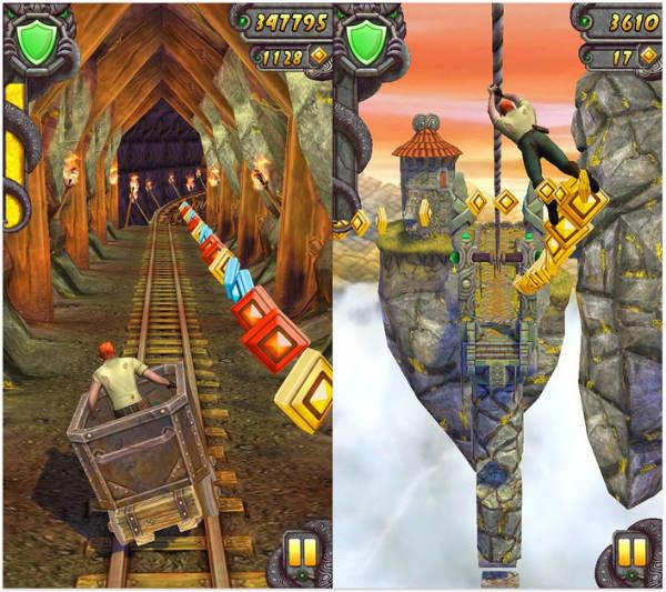 Temple Run 2 soll mit einer neuen Story sowie besserer Grafik punkten. Foto: Android Authority.