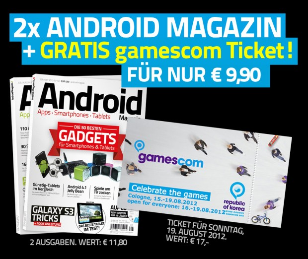 Gratis Gamescom-Ticket