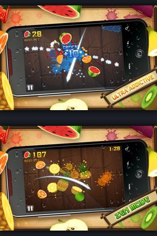 Fruit Ninja gibt es ab sofort auch in einer Free Version