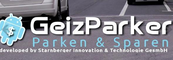 Mit der Geizparker App für Android spart man beim Parken in Wien. Bild: geizparker.at
