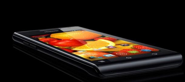 Das Top Smartphone von Huawei, das Ascend P1 kommt nun auch nach Deutschland. Foto: Huwaei.