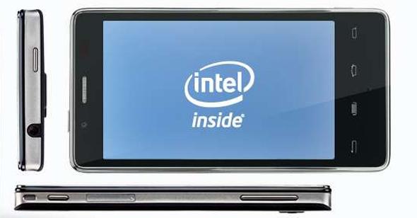 Smartphones mit Intel Prozessor. Bildquelle: Intel