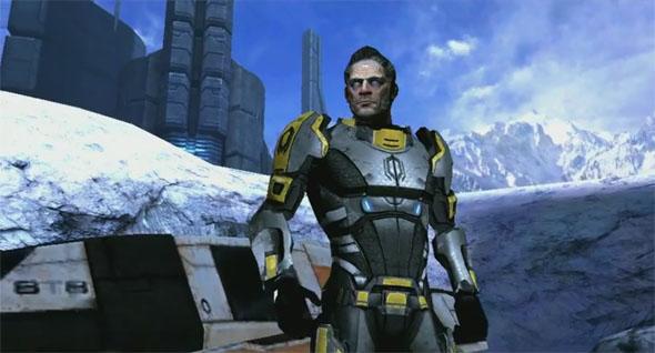 Randall Enzo die Hauptfigur des Spieles.
