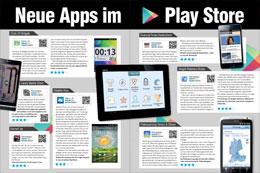 Neue Apps im Playstore (2/4 Seiten)