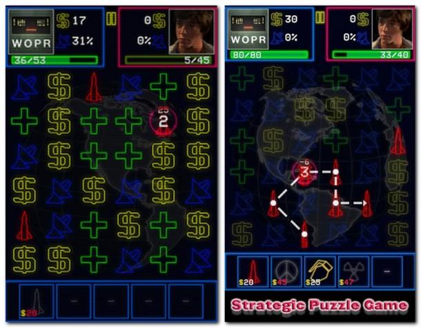 """WarGames: WOPR"""" kommt in großartigem Retro-Look daher, und auch der Sound des Spiels hat Charme."""