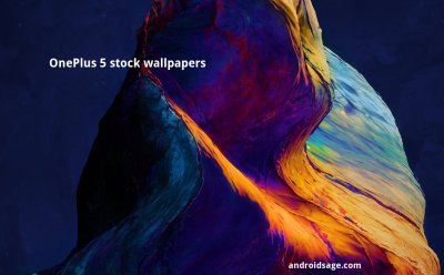 [Download] OnePlus 5 stock wallpapers Full HD from official H2OS screenshot