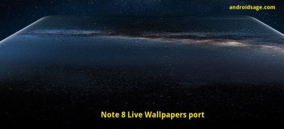 Install Samsung Galaxy Note 8 Live Wallpapers , ringtones, and more [Downloads]