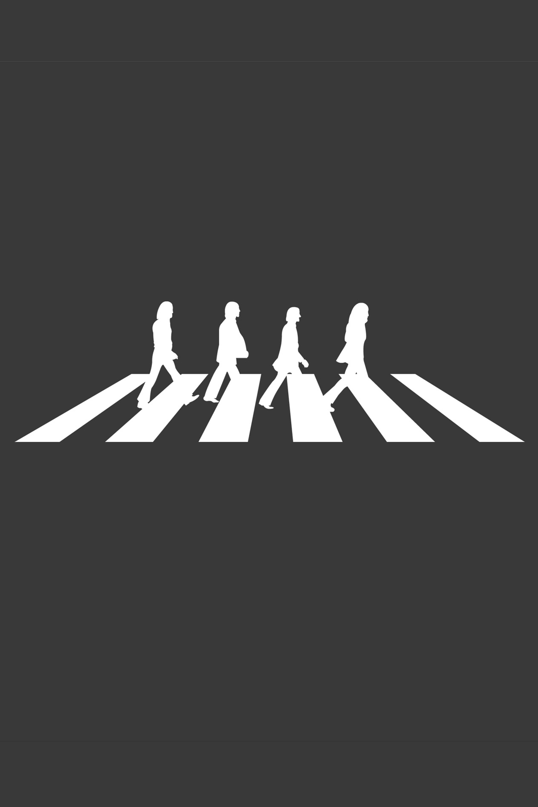 Abbey Road Wallpaper Hd Beatles Abbey Road Grey White Android Wallpaper