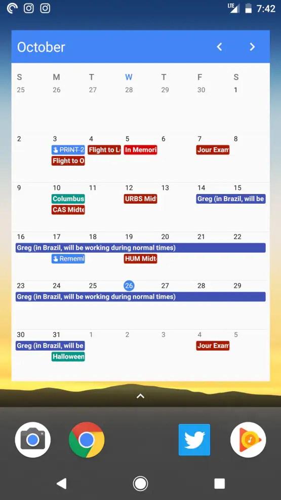 How To Make A New Calendar In Google Zero Google Google Calendar Widget Android Wrocawski Informator
