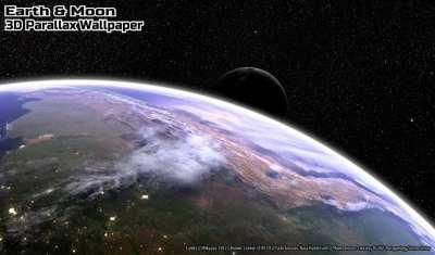 Un live wallpaper perfetto per gli amanti dell'astronomia: Earth & Moon | AndroidWorld