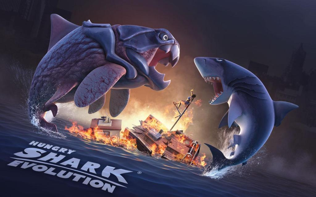 download game hungry shark apk mod