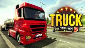 Truck Simulator 2018 Europe MOD APK (Unlimited Money)