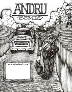 Andru Bemis poster by Caleb Zweifler