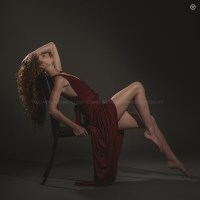 Model, Julie Cox