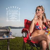 Editorial Illustration: Redneck Summer