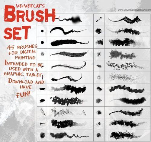 150+ Epic Free Photoshop Brushes