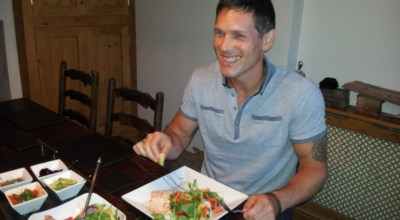 Andy Wilkinson Healthy Meal