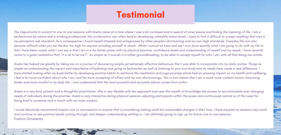 Testimonials (18)