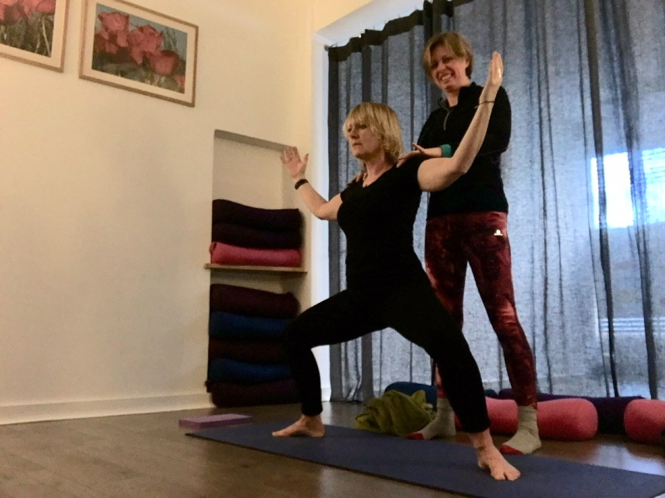 private yoga lessons Canterbury