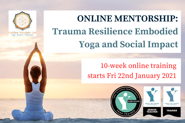 Trauma training for yoga teachers, trauma informed yoga, trauma sensitive yoga