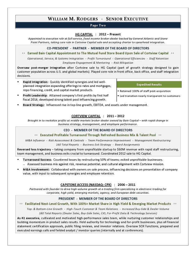 resume examples with linkedin
