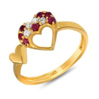 Gold Ring Design For Female Images With Price