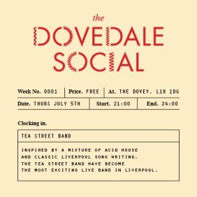 The first Dovedale Social - at The Dovey, Penny Lane, Liverpool