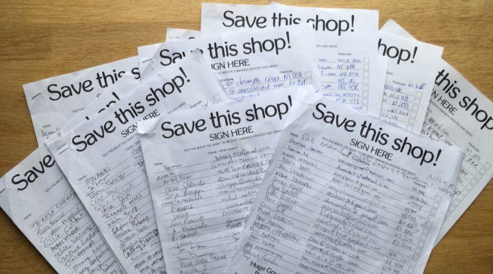 STRONGER \u2013 Save our Shops Petition \u2013 Angel London