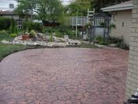 California Fieldstone patio