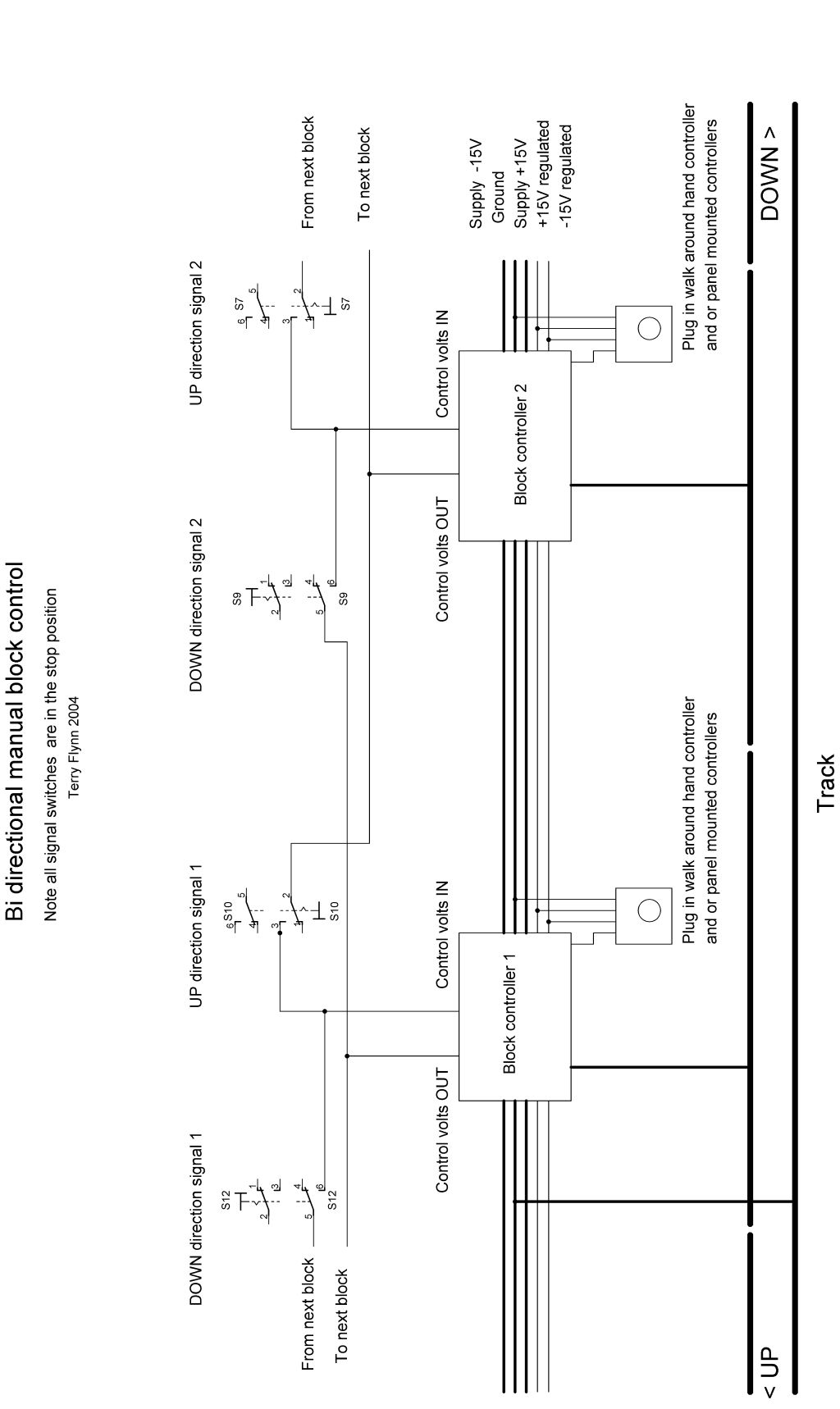 Bs2 Wiring Diagram Auto Electrical Battery With Kickstart Cab Control Two Power Supplies Dc