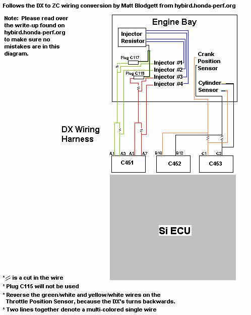 1991 Civic D16 Wiring Wiring Schematic Diagram
