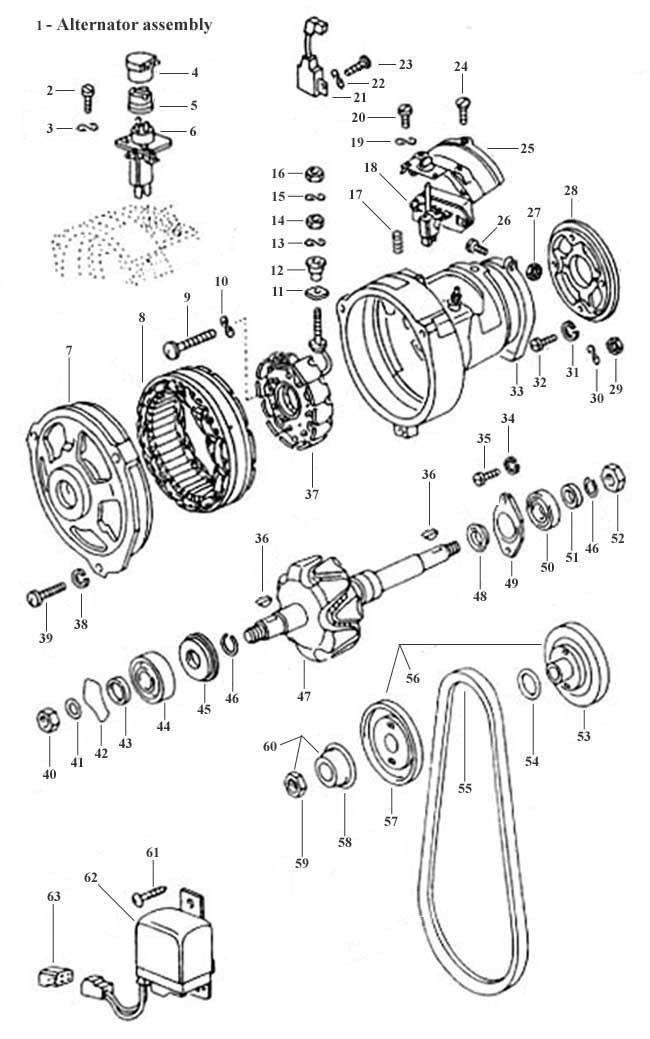 vw type 4 wiring diagram